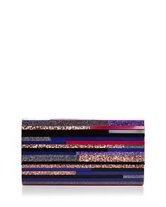 Sondra Roberts - Medium Multicolored Lucite Clutch