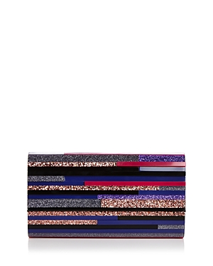 Sondra Roberts Medium Multicolored Lucite Clutch