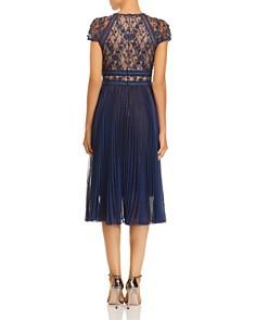 Tadashi Shoji - Embellished Pleat Dress