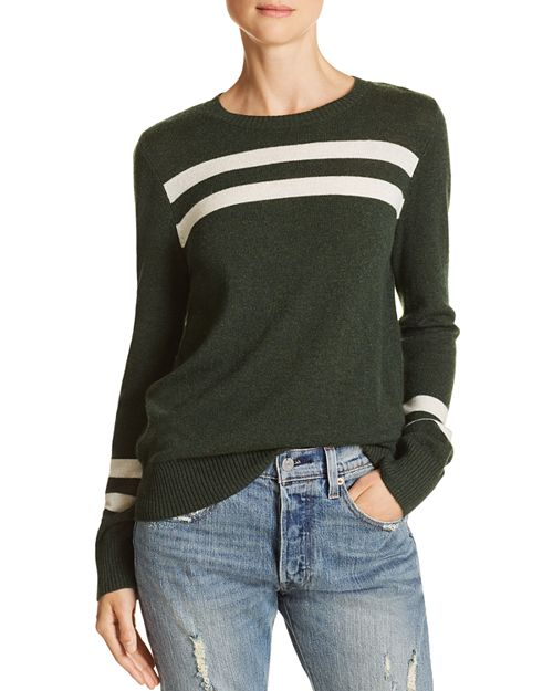 Rebecca Minkoff - Marlowe Striped Merino Wool & Cashmere Sweater