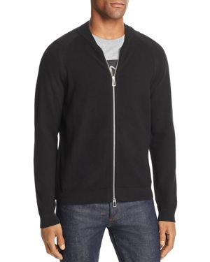 PS BY PAUL SMITH KNIT ZIP CARDIGAN