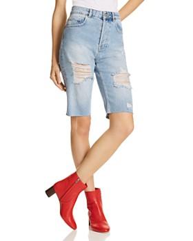 Anine Bing - Gigi Denim Shorts