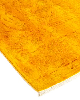 """Solo Rugs - Vibrance 46 Hand Knotted Area Rug, 4' 2"""" x 5' 10"""""""