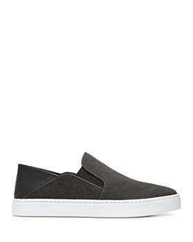 48a586f283f245 ... Vince - Women s Garvey Round Toe Slip-On Suede   Leather Sneakers
