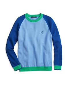 Brooks Brothers Boys' Color Block Crewneck Sweater - Little Kid, Big Kid - Bloomingdale's_0