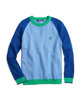Brooks Brothers - Boys' Color Block Crewneck Sweater - Little Kid, Big Kid