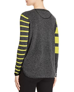Lisa Todd - Pop Stripe Cashmere Sweater