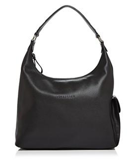 Longchamp - Le Foulonne Large Leather Hobo