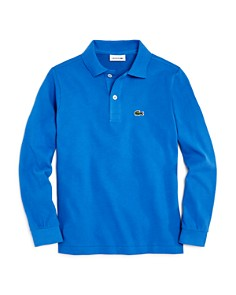 Lacoste Boys' Classic Piqué Long-Sleeve Polo - Little Kid, Big Kid - Bloomingdale's_0
