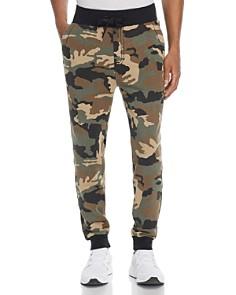 True Religion - Big T Camouflage-Print Sweatpants