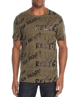 True Religion - Logo Mania Graphic Tee