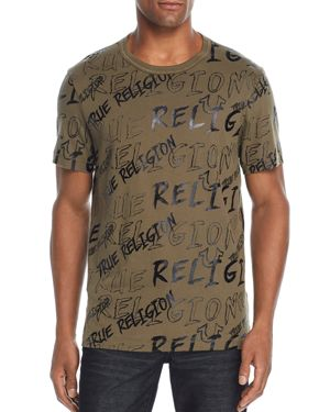 TRUE RELIGION LOGO MANIA GRAPHIC TEE