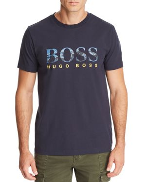 BOSS MOUNTAIN LOGO GRAPHIC TEE