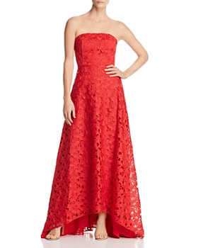 Keepsake - Headlines Strapless Lace Gown