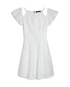 Miss Behave Girls' Bella Lace Cold-Shoulder Dress - Big Kid - Bloomingdale's_0