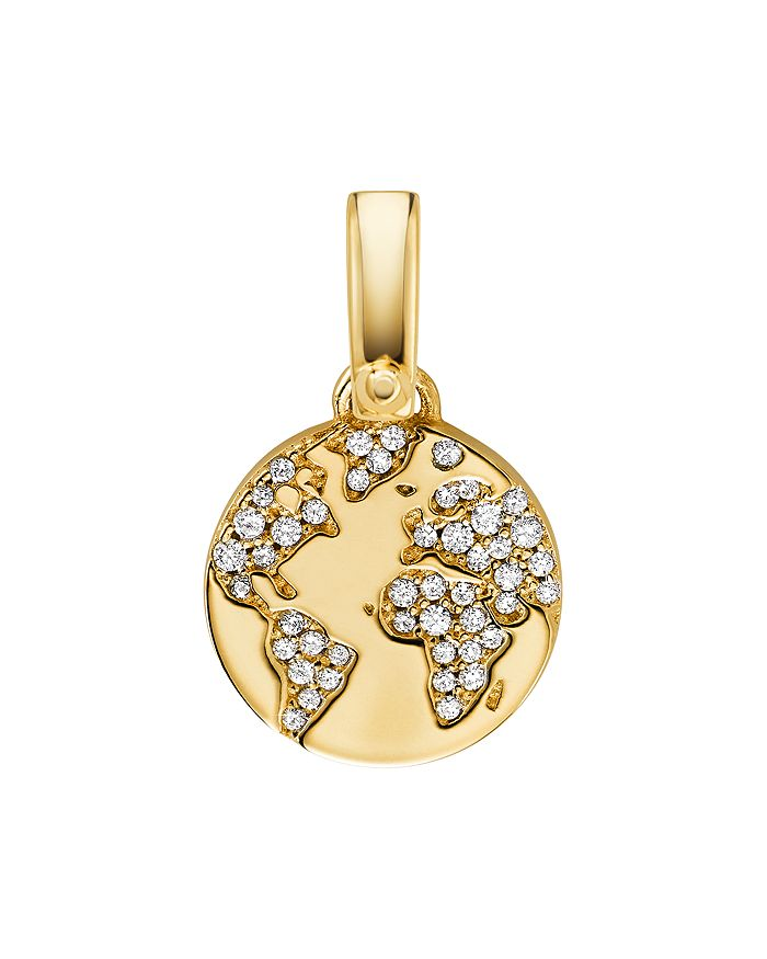Michael Kors - Custom Kors 14K Gold-Plated Sterling Silver Globe Charm
