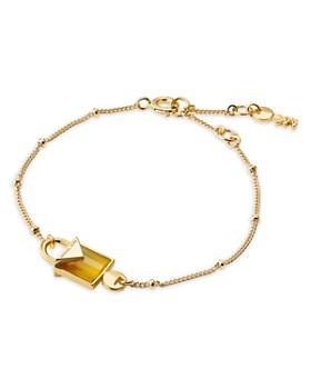 Michael Kors - Kors Color Semi-Precious 14K Gold-Plated Sterling Silver Bracelet