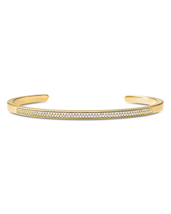 Michael Kors - Custom Kors Pavé Sterling Silver Nesting Bracelet Insert in 14K Gold-Plated Sterling Silver, 14K Rose Gold-Plated Sterling Silver or Solid Sterling Silver