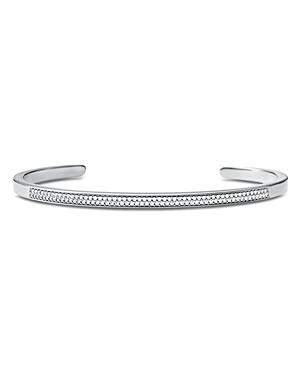Michael Kors Custom Kors Pave Sterling Silver Nesting Bracelet Insert in 14K Gold-Plated Sterling Si