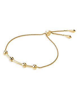 Michael Kors - Custom Kors Sterling Silver Starter Slider Bracelet in 14K Gold-Plated Sterling Silver, 14K Rose Gold-Plated Sterling Silver or Solid Sterling Silver