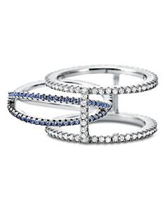 Michael Kors - Custom Kors Sterling Silver Pavé Nesting Ring Insert