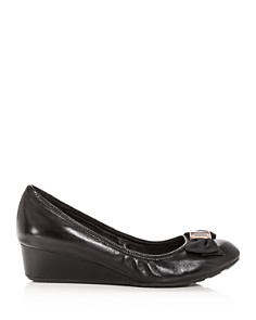 Cole Haan - Women's Tali Leather Demi-Wedge Pumps