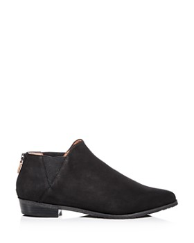Gentle Souls by Kenneth Cole - Women's Neptune Nubuck Leather Low-Heel Booties