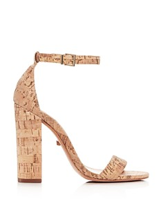 SCHUTZ - Women's Enida High Block-Heel Sandals