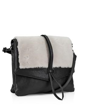 Kooba - Yukon Medium Leather & Shearling Crossbody