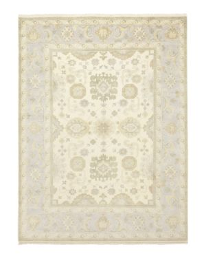 Solo Rugs Oushak 7 Hand-Knotted Area Rug, 9' 3 x 12' 1