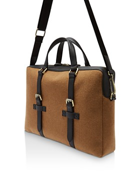 Ted Baker - Cabble Wool Document Bag