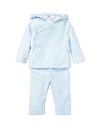 f98040c0cc3e Ralph Lauren Boys  Velour Kimono Hoodie   Pant Set - Baby ...