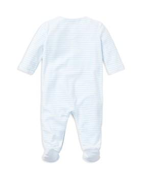 Ralph Lauren - Boys' Striped Velour Footie - Baby