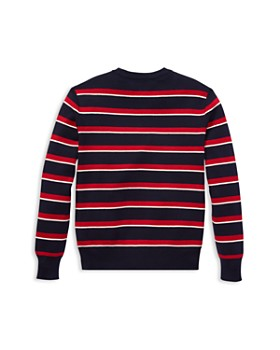 Ralph Lauren - Boys' Pima Cotton Striped Sweater - Little Kid