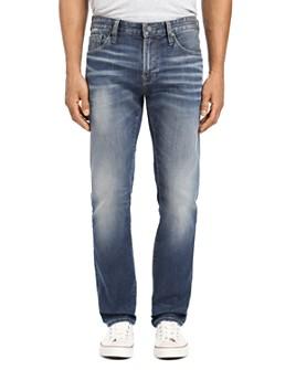 Mavi - Zach Straight Fit Jeans Brushed Authentic Vintage