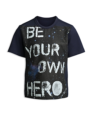 Mini Series Boys Be Your Own Hero Outer Space Tee Little Kid  100 Exclusive