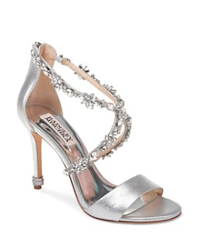 0979dce60f72 Badgley Mischka - Women s Venus II Open Toe Leather High-Heel Sandals ...