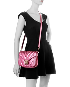MCM - Patricia Small Quilted Leather Shoulder Bag