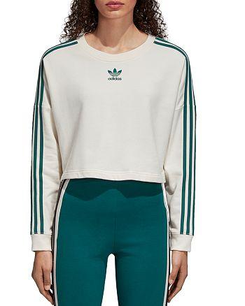 b14c963da5c68 adidas Originals Adibreak Cropped Sweatshirt   Bloomingdale s