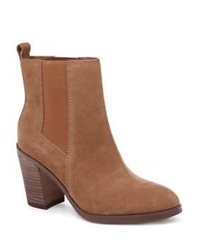 b0537b94e889 Splendid - Women s Newbury Almond Toe Suede Mid-Heel Booties ...