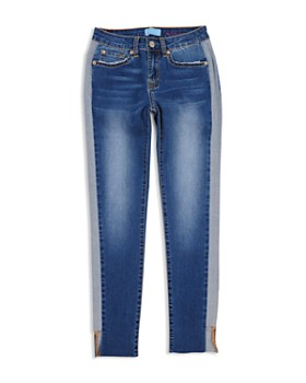 7 For All Mankind - Girls' Blair Contrast Skinny Jeans - Little Kid