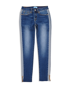 7 For All Mankind Girls' Blair Contrast Skinny Jeans - Little Kid