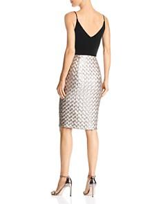 Black Halo - Finley Velvet & Sequin Dress