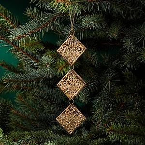 Bloomingdale's Beaded Metal Rhombus Ornament - 100% Exclusive