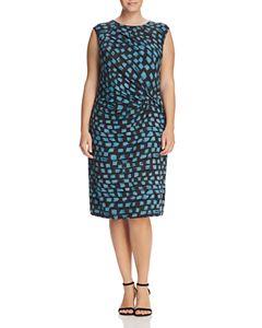 6068f059e5 MILLY Textured Leopard-Print Dress