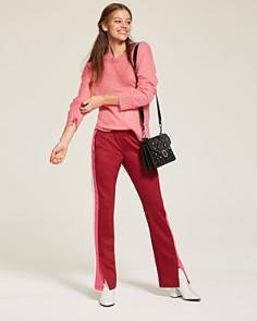 Rebecca Minkoff - Jean Crystal Medium Studded Suede Shoulder Bag
