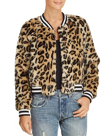 c6503a9f65ce Jack by BB DAKOTA Clever Girl Leopard Print Faux Fur Bomber Jacket ...