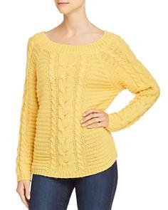 Rebecca Minkoff - Juna Cable-Knit Sweater