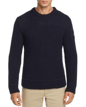Galloway Regular Fit Merino Wool Sweater, Navy