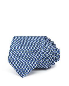 Salvatore Ferragamo Tossed Leaves Silk Classic Tie - Bloomingdale's_0